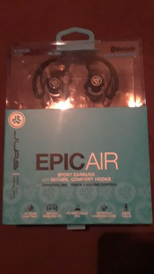 JLAB Epic Air sport earbuds for Sale in Draper, UT