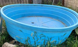 Blue animal trough for Sale in RANCHO SUEY, CA