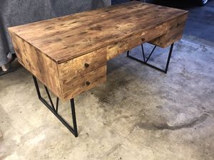 Modern mid-century desk for Sale in Gig Harbor, WA