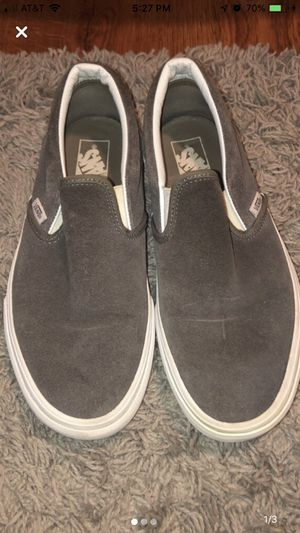 Grey Suede Vans for Sale in Ashland, OR