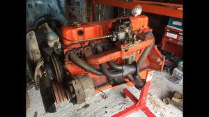 70's Chevy motor 6 cyl ( Rebuilt!! ) Header for Sale in Kenbridge, VA