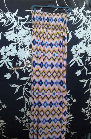 New Patterned Pink Yellow Dress Size Medium $4 for Sale in Riverside, CA