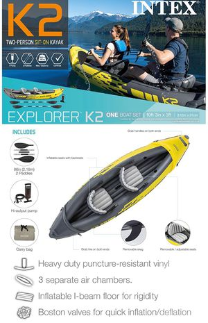 INTEX Explorer K2 Kayak - 2 person for Sale in Brea, CA