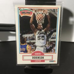 1990 Fleer David Robinson #172 Basketball Card for Sale in Bellwood,  IL