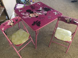 Kids table and chair for Sale in Irving, TX