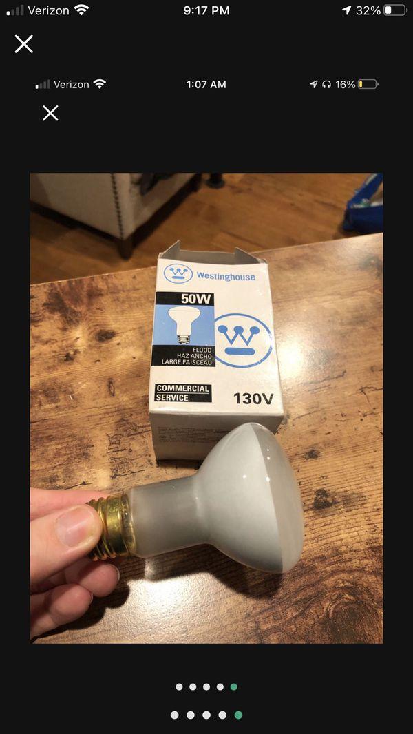 New Light Bulbs 50w