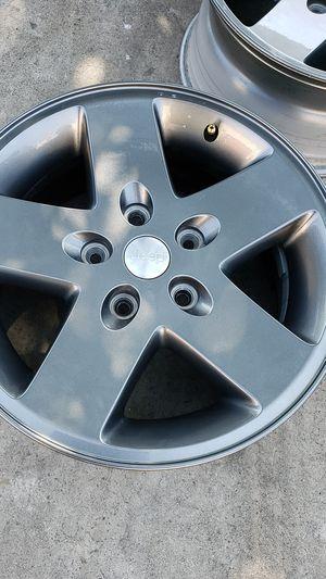 """Jeep Wrangler 2012 17"""" OEM Wheel Rim for Sale in Riverside, CA"""
