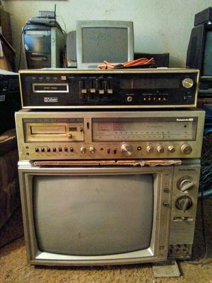 Craftsman 6829 & Panasonic SE-4708 Stereo Receivers - Check My Profile For 100+ More Items! for Sale in Visalia, CA
