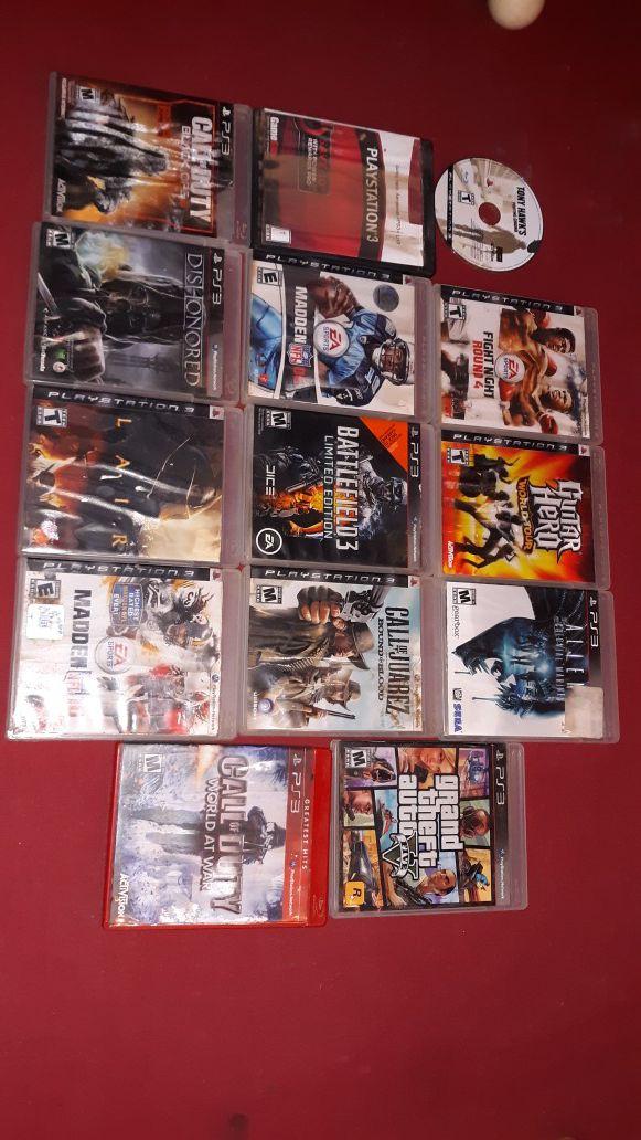 14 ps3 games