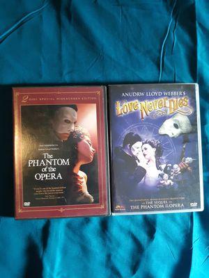 Phantom of the Opera DVDs for Sale in Carmi, IL