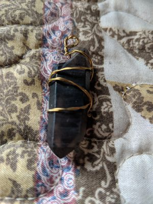 Smokey quartz healing necklace for Sale in Ballinger, TX