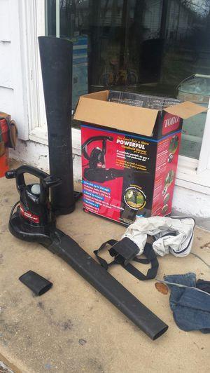 Toro Super Blower Vac for Sale in Fairfax, VA