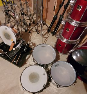 Yamaha Drum Set, Stage Custom Birch Wood , 7 pc, w/Sabian Cymbals for Sale in O'Fallon, MO