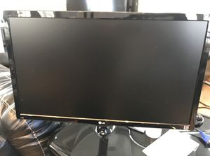 HD 1080 24in LG Computer Monitor 60hz (HDMI Port) for Sale in Raleigh, NC