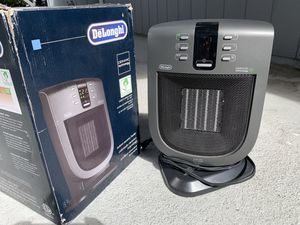 De'Longhi Ceramic Compact Heater [LIKE NEW] for Sale in South San Francisco, CA