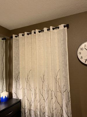 """Curtain !!!! 2- 50"""" x 95"""" for Sale in Vancouver, WA"""