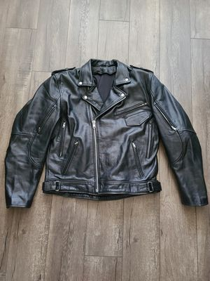 Motorcycle Padded Riding Leather Jacket for Sale in Fresno, CA