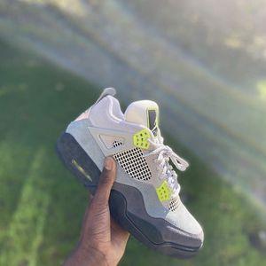 Jordan 4 Neon for Sale in Atlanta, GA