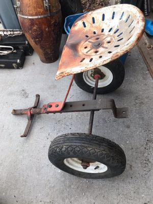 Tractor Seat and Wheels for Sale in Wheat Ridge, CO