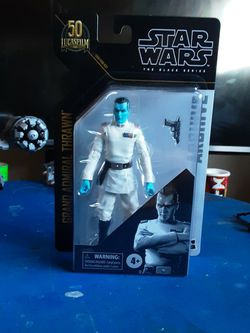 Star Wars Black Series Grand Admiral Thrawn for Sale in Stockton,  CA