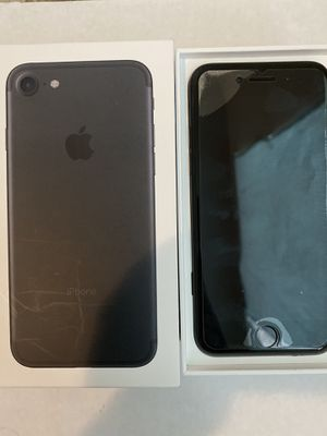iPhone 7 Black 32GB Unlocked-(With Box+Charger+Headphones for Sale in Salt Lake City, UT