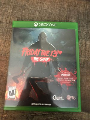 Friday the 13 Xbox one for Sale in Milford, MA