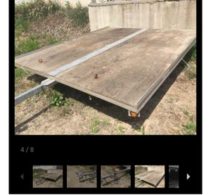 Aluminum double wide snowmobile trailer for Sale in Green Bay, WI