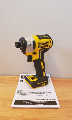 New Impact Drill MAX XR (DCF887)3 Speed ONLY TOOL NO CHARGER OR BATTERIES FIRM PRICE for Sale in Woodbridge, VA