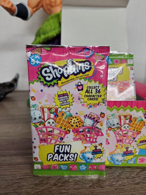Shopkins 24 sealed fun packs