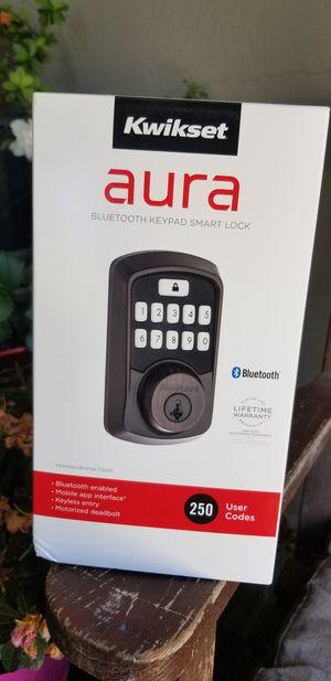 Kwikset Aura bluetooth lock door for Sale in San Jose, CA