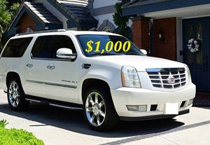 🍁$ 1,000 Selling my 2008 Cadillac Escalade🍁 for Sale in Tampa, FL