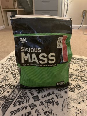 ON Serious mass. 75% pack. for Sale in Daly City, CA