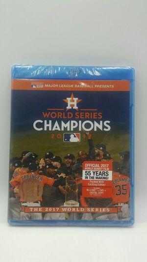 World Series Champions 2017: Houston Astros (Blu-ray Disc + DVD + Digital Copy) for Sale in Hollywood, FL