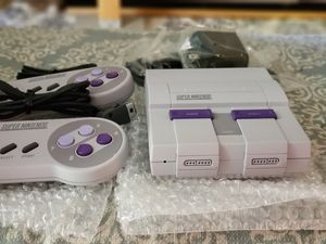 Authentic snes classic modded with 250 snes games for Sale in Scottsdale, AZ