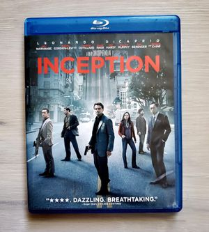 Inception (2010) Blu-Ray Leonardo Dicaprio for Sale in VLG WELLINGTN, FL