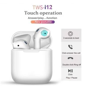 Wireless Earbuds Bluetooth Mic Touch Operation Great Audio Earphones 100% Water Proof! (NEW) TWS i12 for Sale in Lake View Terrace, CA