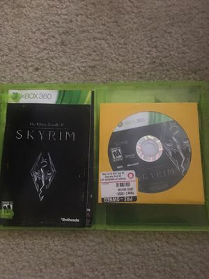Skyrim Elder Scrolls V Xbox 360 For Sell for Sale in Washington, DC