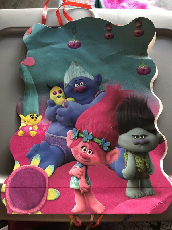 Used Trolls Piñata