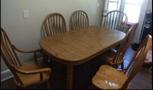 Kitchen Table. Virginia House Oak Wood for Sale in Durham, NC