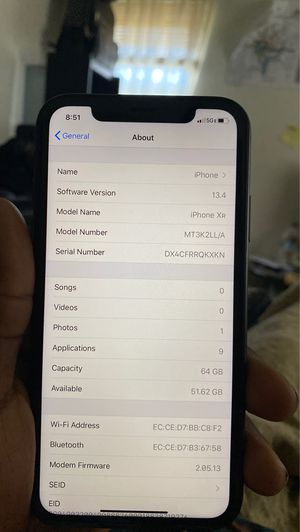 IPHONE Xr 64Gb Black for Sale in Capitol Heights, MD