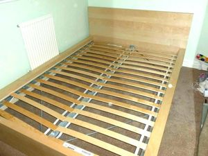 Ikea MALM twin bed frame for Sale in Seattle, WA
