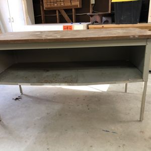 Free Garage Table Workbench for Sale in Raleigh, NC