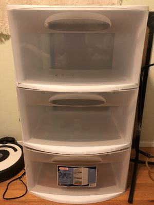 Three drawer storage container for Sale in Lakewood, WA