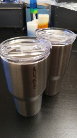 Vacuum insulated travel mugs hot/cold for Sale in Seattle, WA
