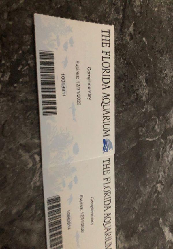 Florida Aquarium tickets