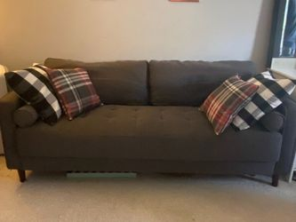 Mid century Couch and XL Chair & A Half for Sale in Schaumburg,  IL