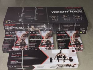🔥NEW Olympic Weightlifting set & Rack🔥 for Sale in Fontana, CA