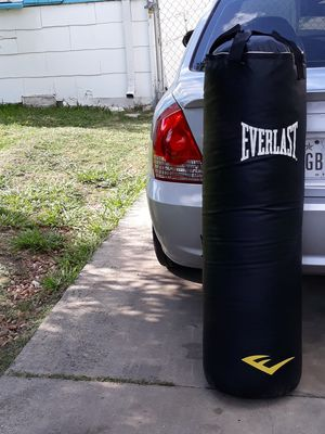 punching bag and boxing gloves for Sale in San Antonio, TX