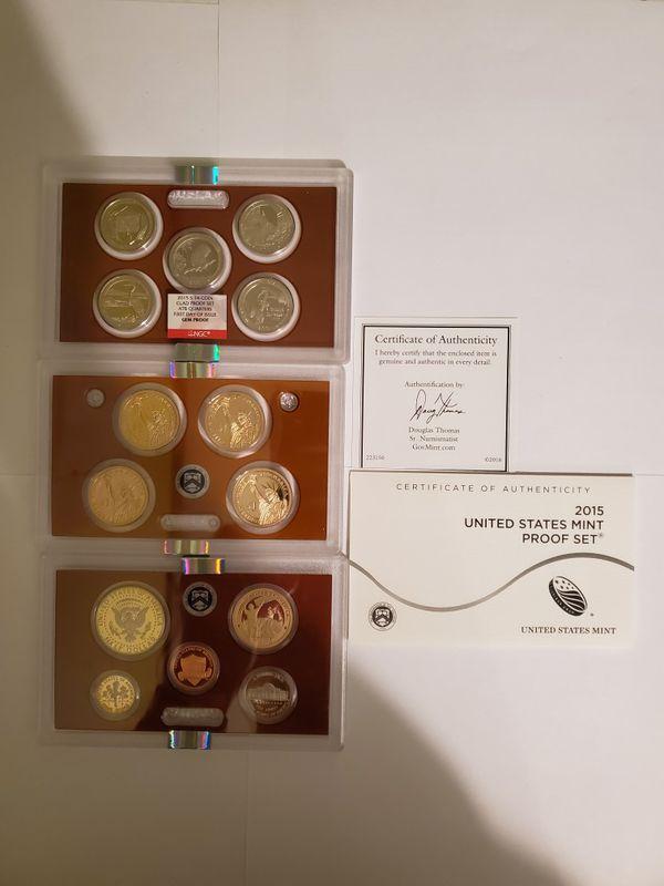 2015 United States Mint Proof Set