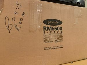 Polk Audio RM 6600 Speakers for Sale in Springfield, VA
